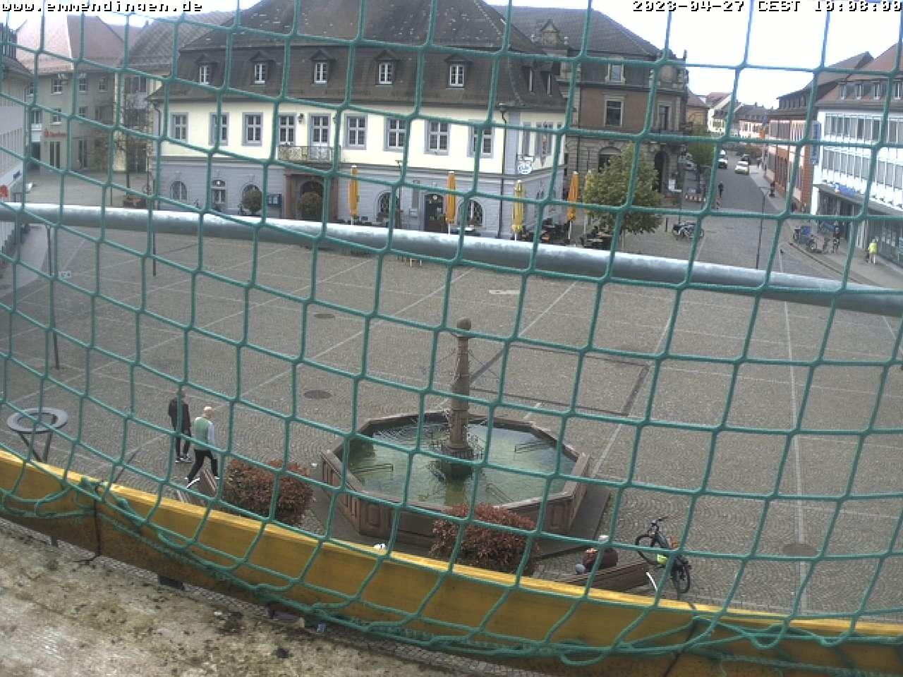 Webcam Emmendingen Marktplatz
